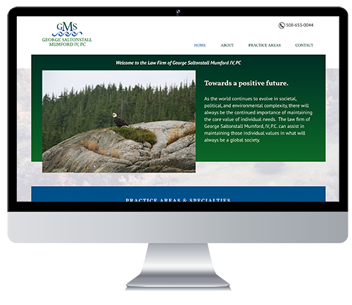 Custom Responsive Website Design for an Environmental Law Firm