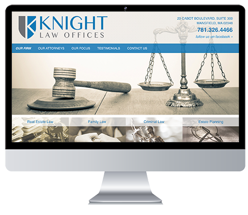 Custom Responsive Website Design for a Law Firm
