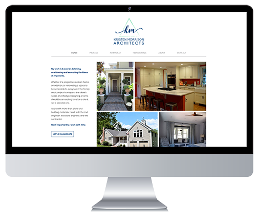 Custom Responsive Website Design for Architectural Firm
