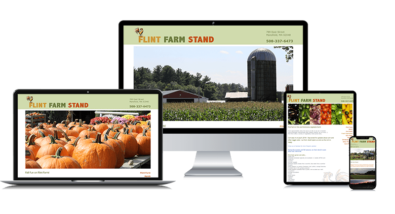 Custom Responsive Website Design for a Farm Stand